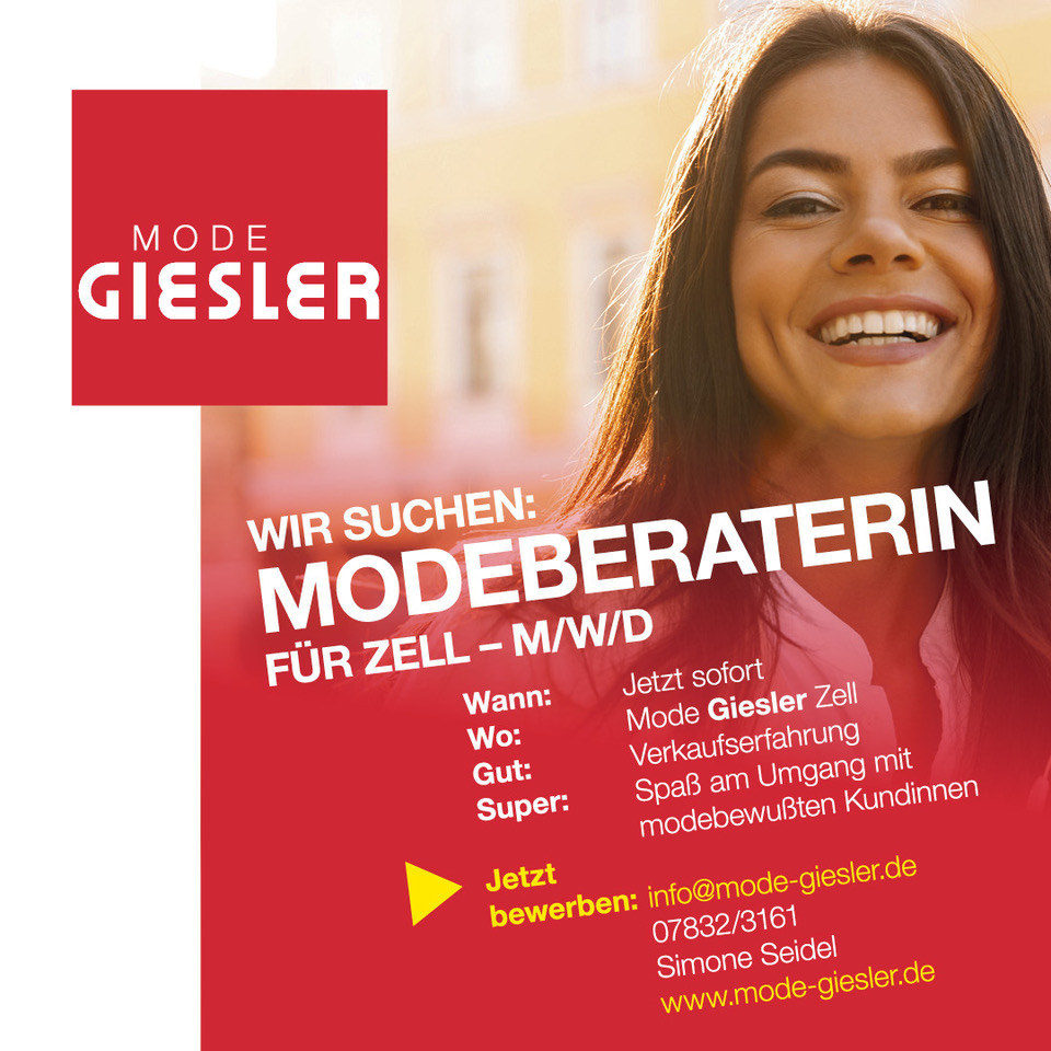 Modeberaterin Zell